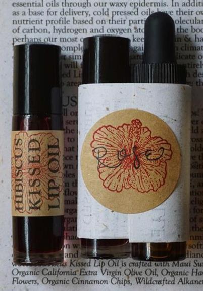 indigo elixir lip oil