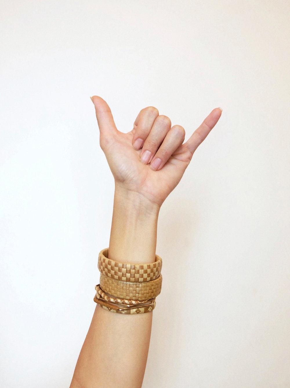 Ulana'apolima Lauhala Weaving