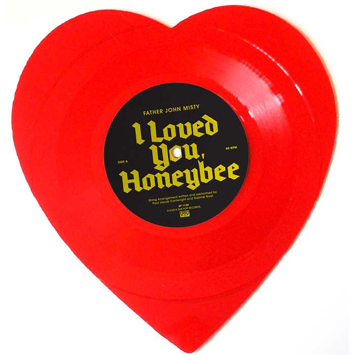 "Father John Misty – I Loved You, Honeybee (7"" Coloured Vinyl)"