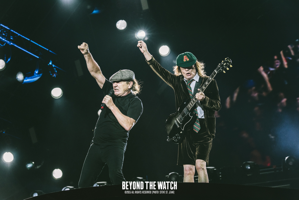 Brian Johnson & Angus Young of AC/DC