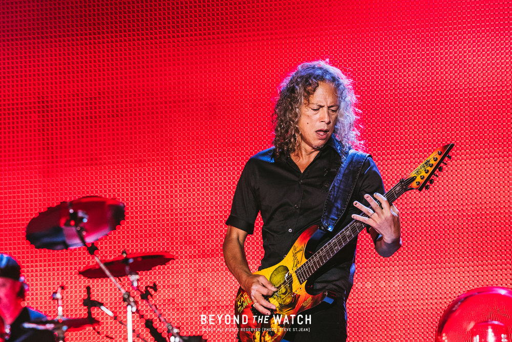 Kirk Hammett was unbelievable as per usual.