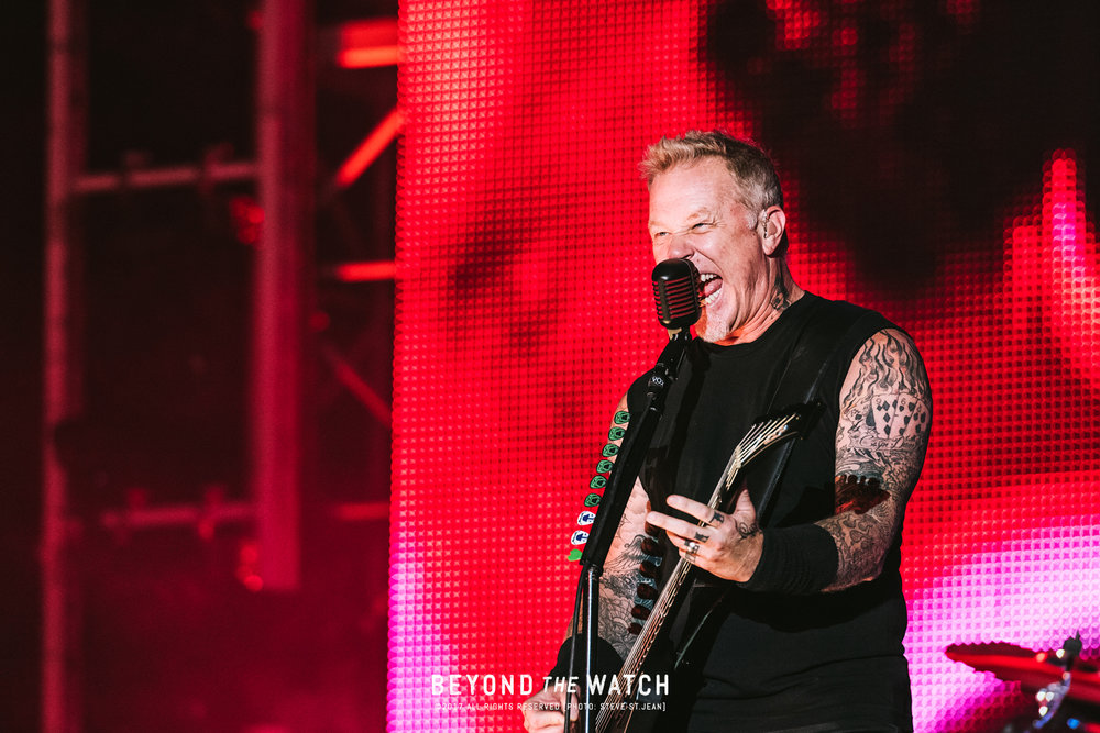 Legend! Hetfield was on point the entire night. Sounded so good.