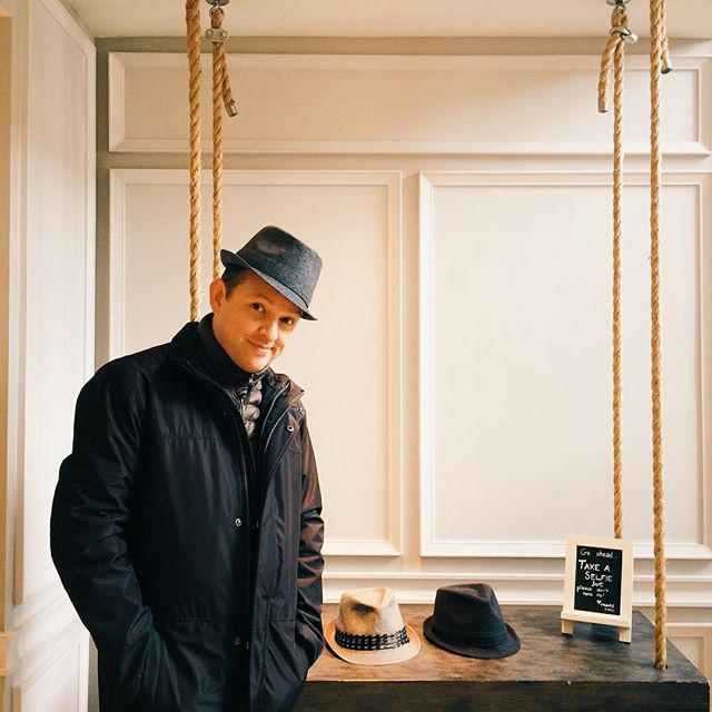 What's a gentleman thief without a hat #mykindofhotel - photo by @avaalongtheway