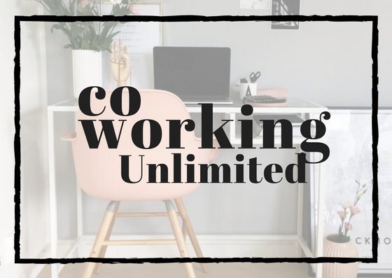 CO-WORKING UNLIMITED: $115    * fast wifi   * access to the co-working space M-F 11:00am-5:00pm   * all community member benefits * tea, water, and cozy mugs   * discounts to community events