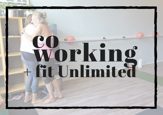 UNLIMITED CO-WORKING + FITNESS: $249    * fast wifi * access to the co-working space M-F 11:00am-5:00pm   * all community member benefits * tea, water, and cozy mugs   * discounts to community events * access to unlimited fitness classes (normally $199/month)