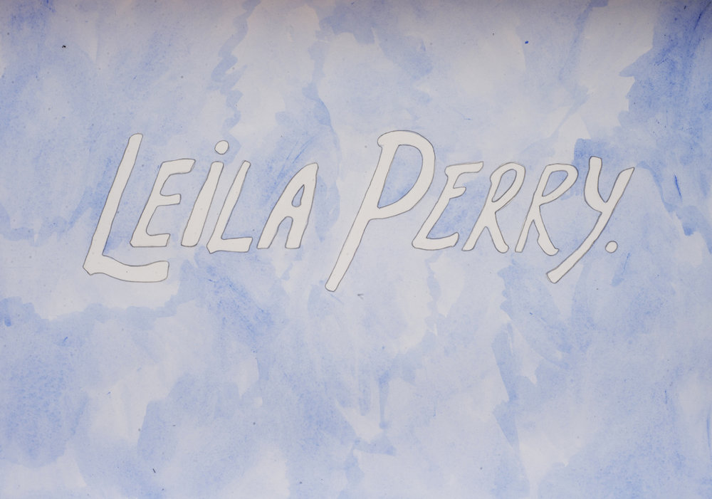 Leila Perry: Leila Perry, 2016, Watercolour and pencil on paper, 42.0 x 29.5 cm, $410 AUD