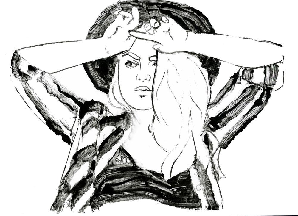 Lexi Valdez Wearing A Gaucho Hat .jpg