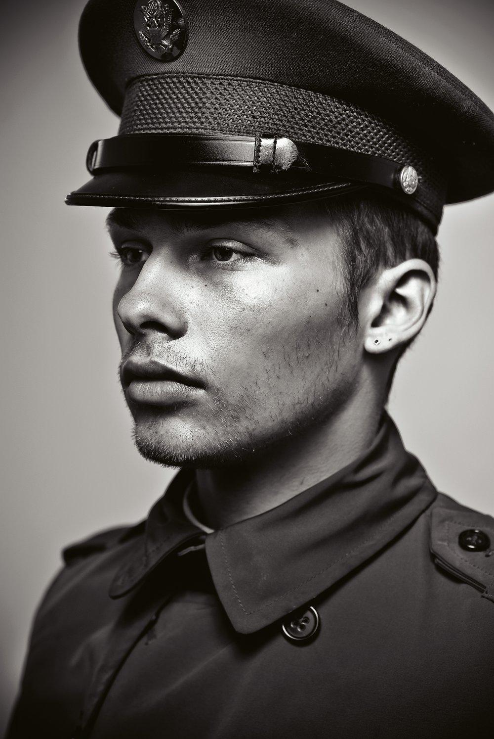 ausweis military portrait 1