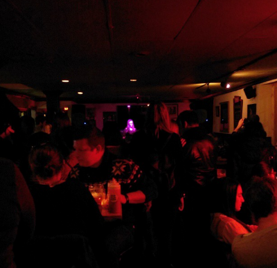A full house at the Monarch Tavern.