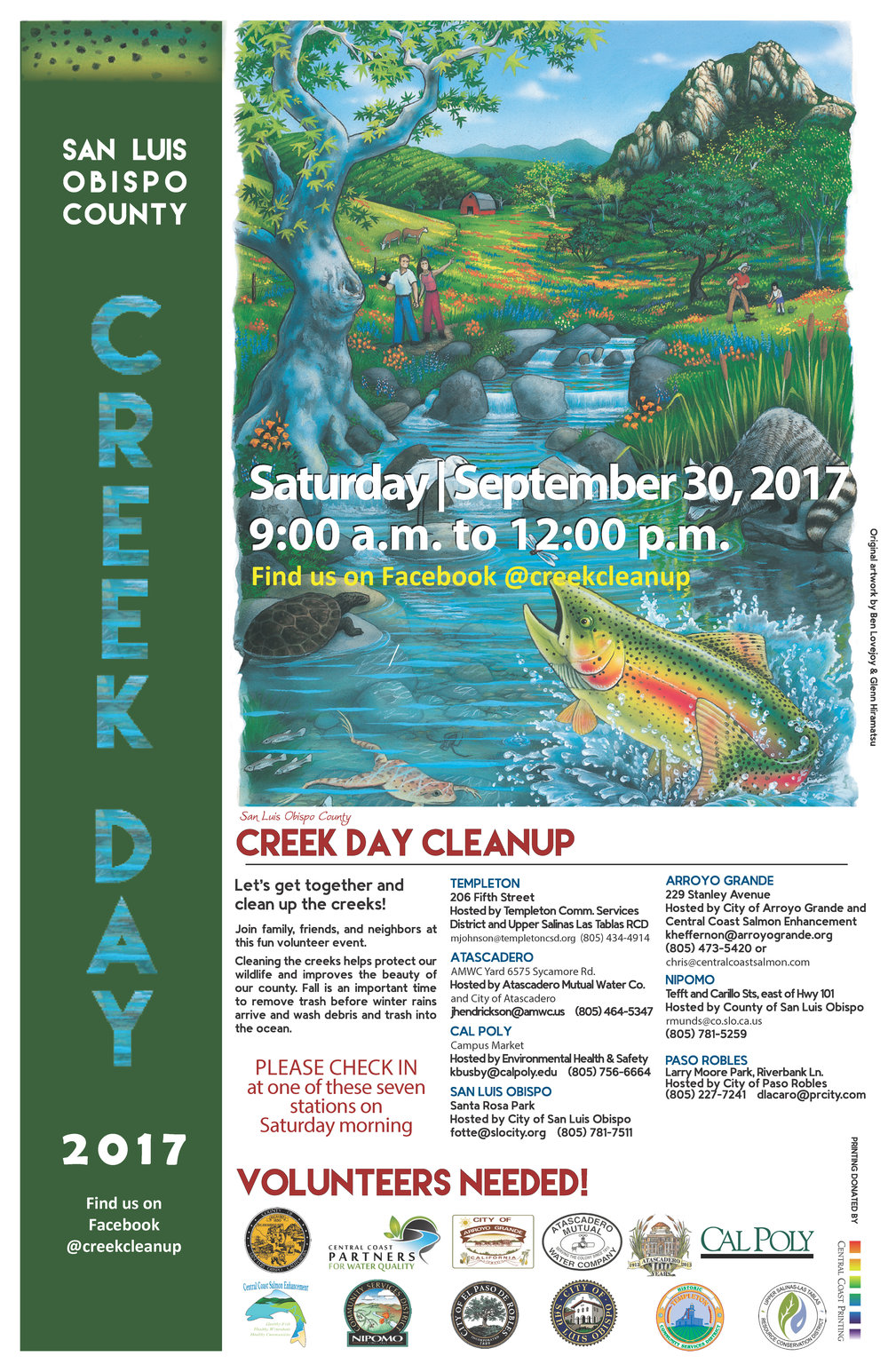 creek day cleanup
