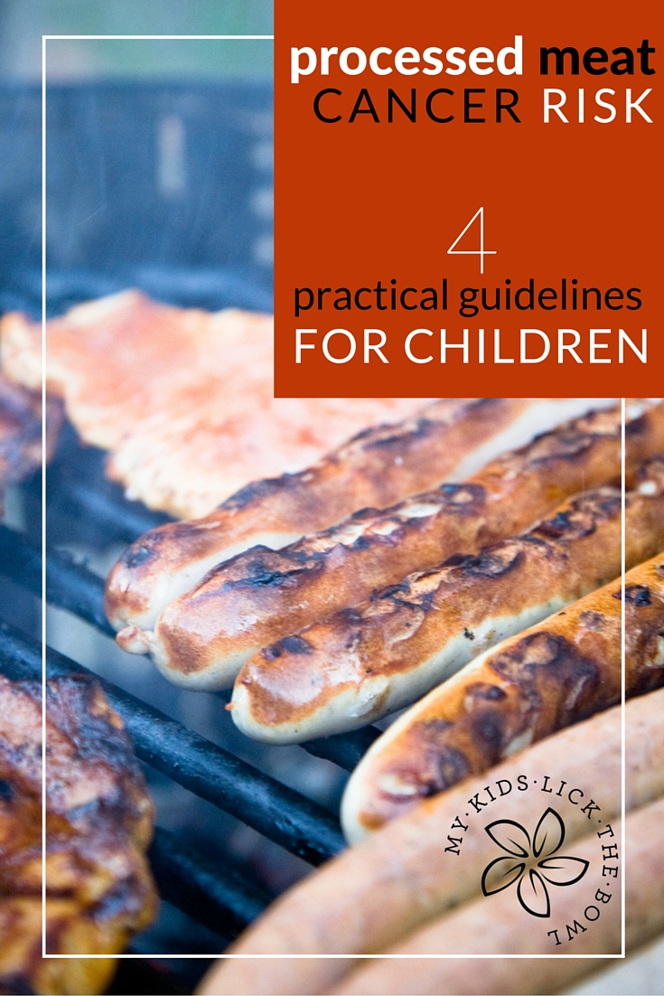 Processed Meat and Cancer Risk | A review of the evidence and 4 practical guidelines when it comes to processed meat for children