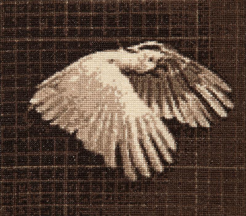 cross stitch 20mm x 18mm