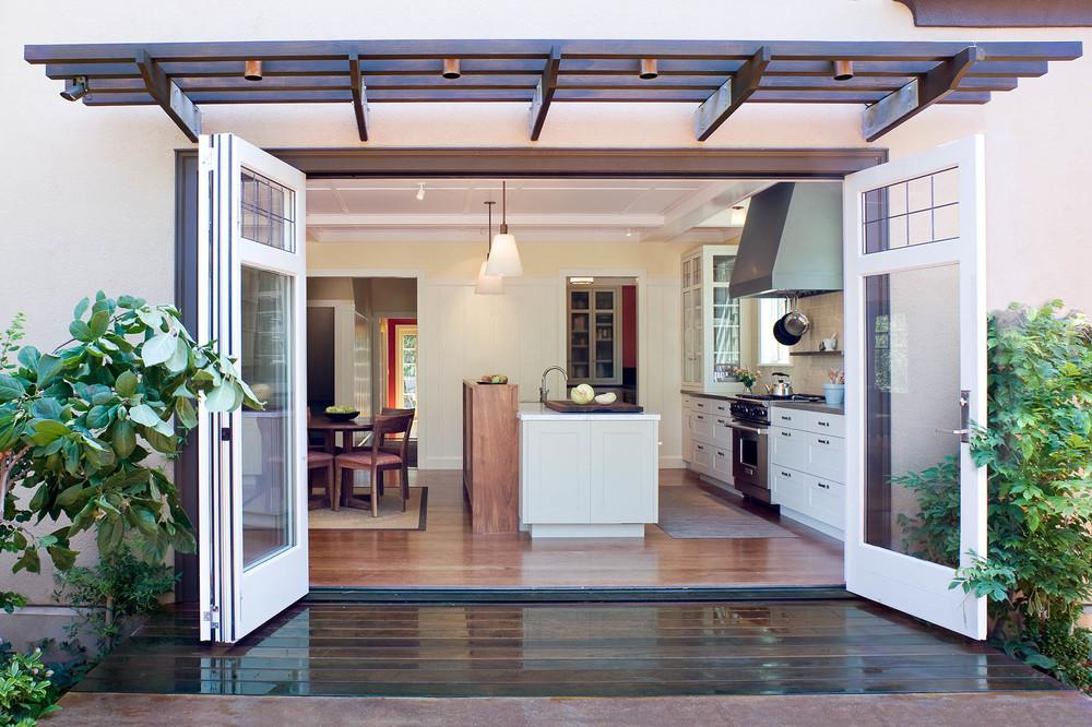 Indoor Outdoor Kitchen — Jetton Construction