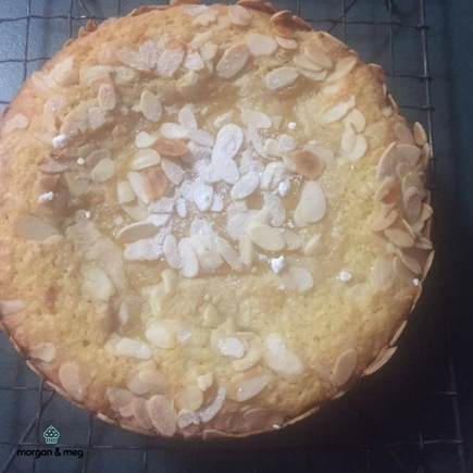 Lemon & Almond Torta