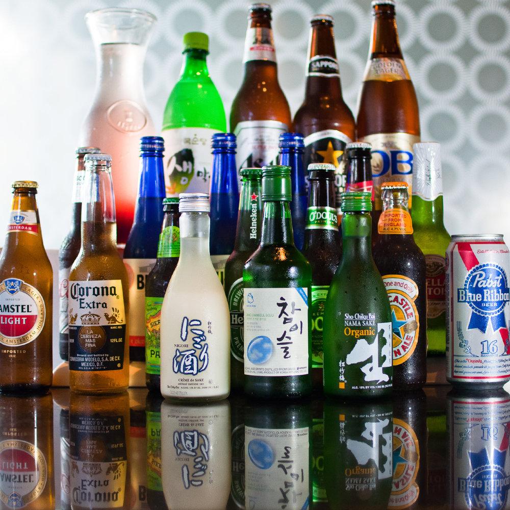 Full Alcohol Menu Below