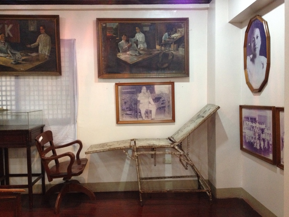 I don't plan my routes which can be unproductive but also rewarding when I happen to find interesting places such as the Museo de Valenzuela. The small museum is really just a room, but has some insightful dioramas and artifacts on display such as photos, equipment, and other belongings of the Dr. Pio de Valenzuela.