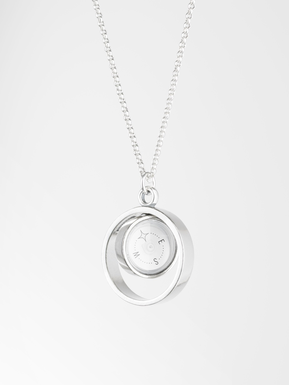 Design for suunto the guiding star compass necklace lina simons guiding star silver compass pendant designed in 2014 this picture is a property aloadofball Image collections