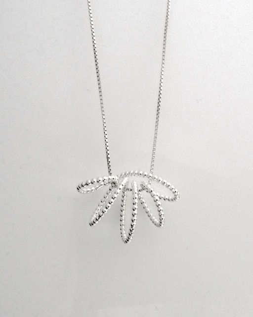 Necklace in sterling silver, designed in 2011