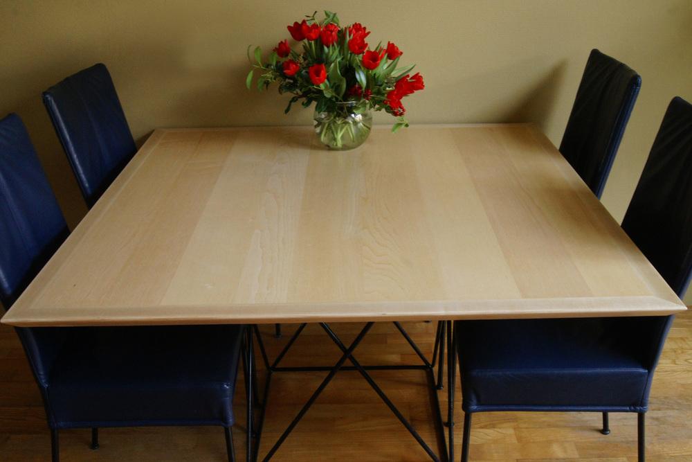 Essenhouten tafelblad