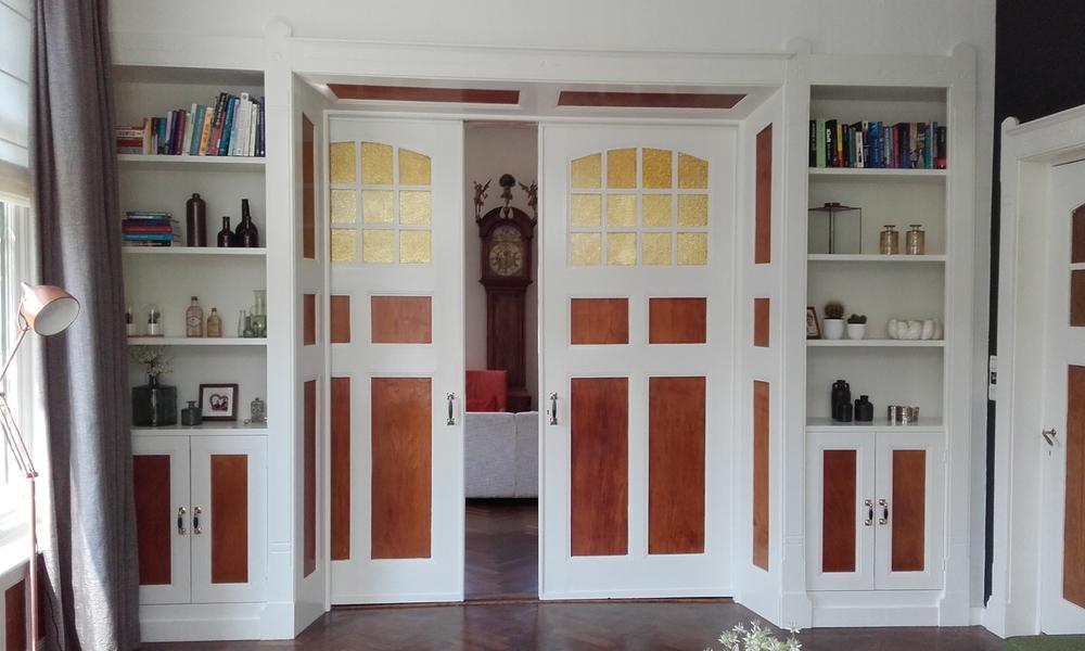 Kamer en suite kasten