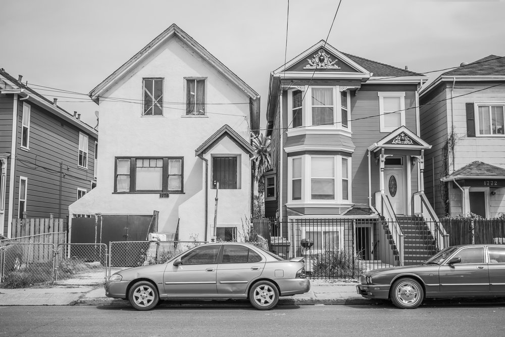 Homes. West Oakland, California