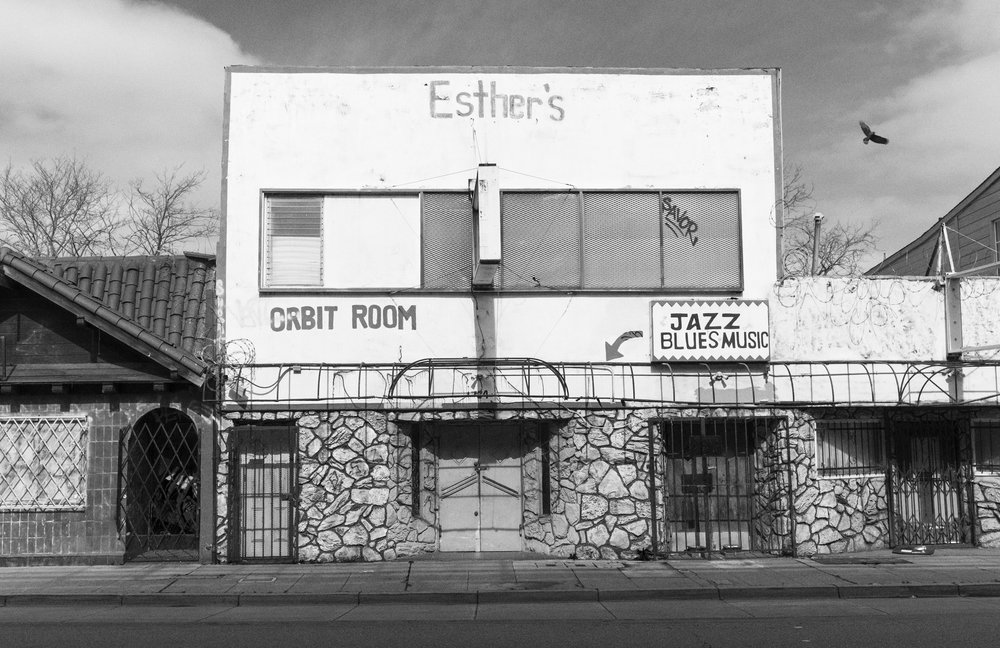 Esther's.  West Oakland, California
