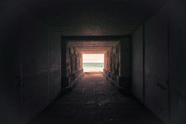 TripDownMemoryLane.  #memories #Tunnel #Barcelona #travel #explore #adventures #beachvibes #summer17 #wanderlust #travelphotography  #lightattheend #artofvisuals #darkbeautymag #sunset