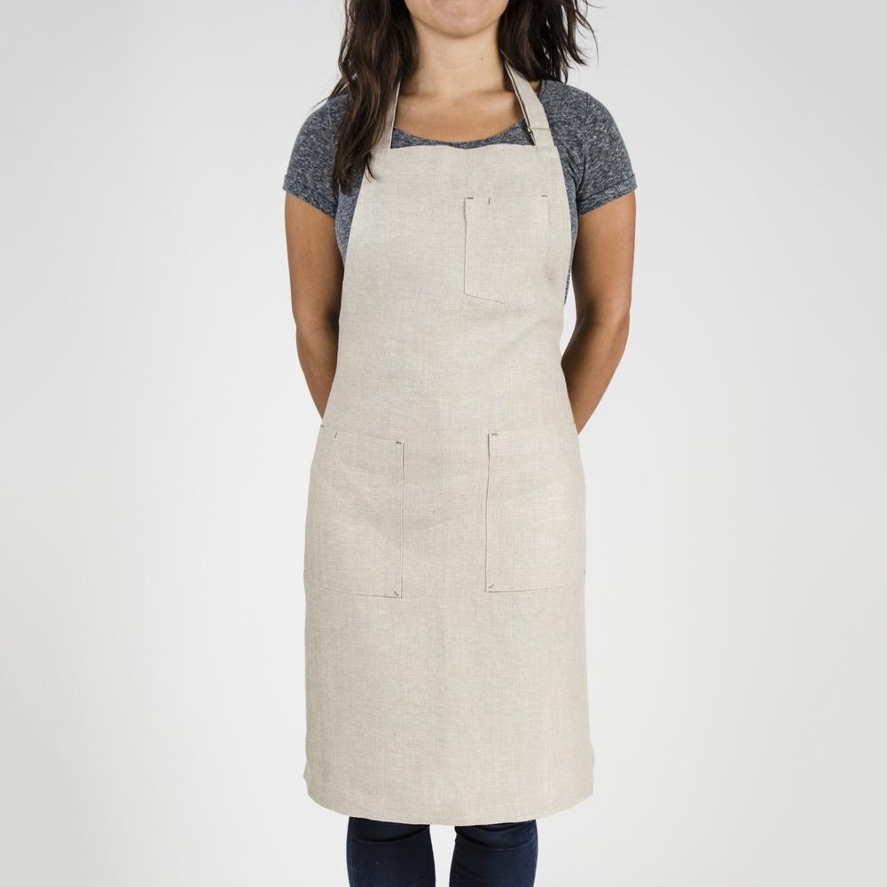 White apron ireland - Oatmeal