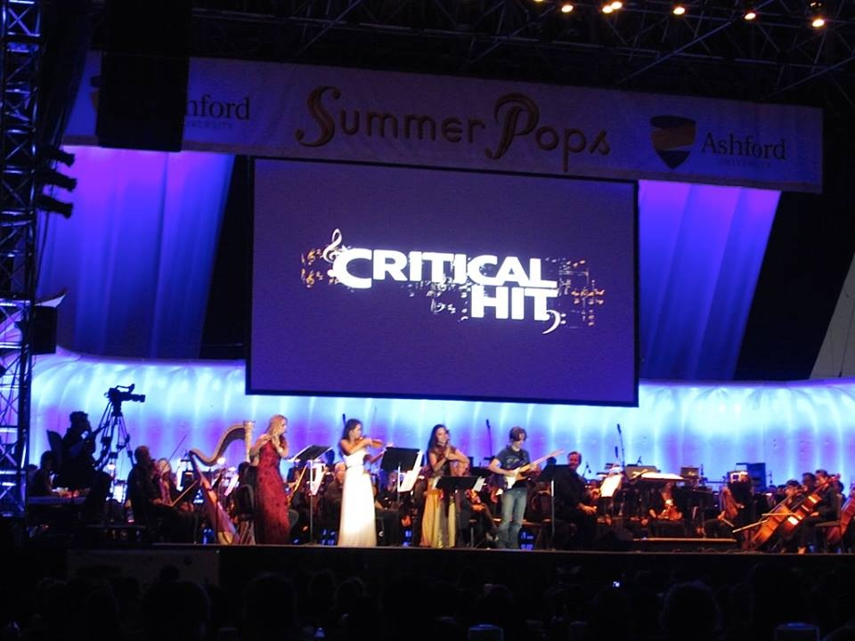 Critical Hit with the San Diego Symphony   July 2014   ·  San Diego