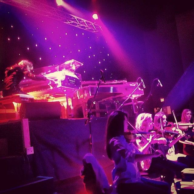 Rehearsal with Yoshiki at SXSW   March 2014   ·  Austin, TX
