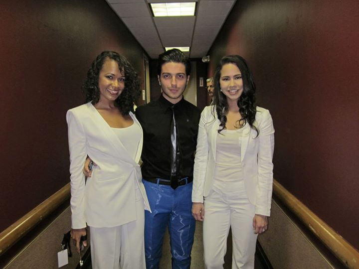 Backstage with Gianluca Ginoble before Il Volo concert  August 2013  ·  Universal City, CA
