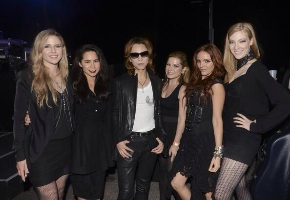 Post-performance with Yoshiki at SXSW   March 2014   ·  Austin, TX