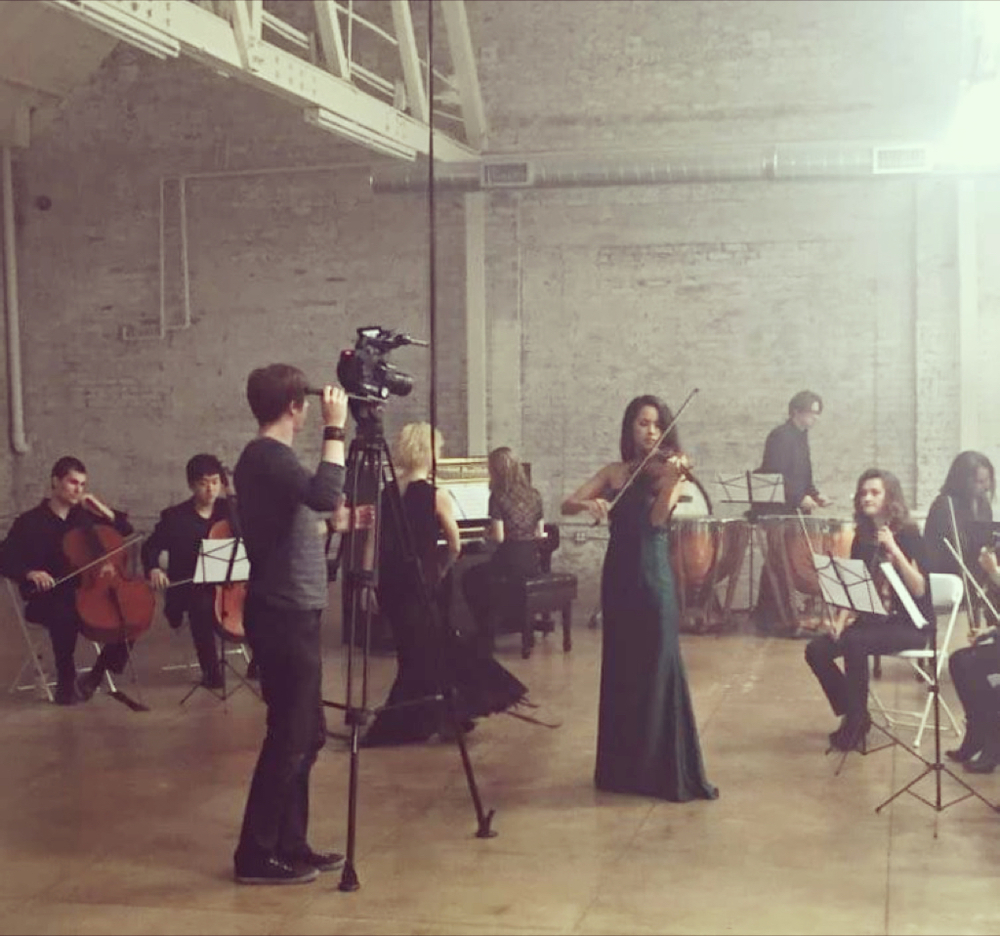 "Video shoot for ""7""  January 2016  ·  Downtown Los Angeles"