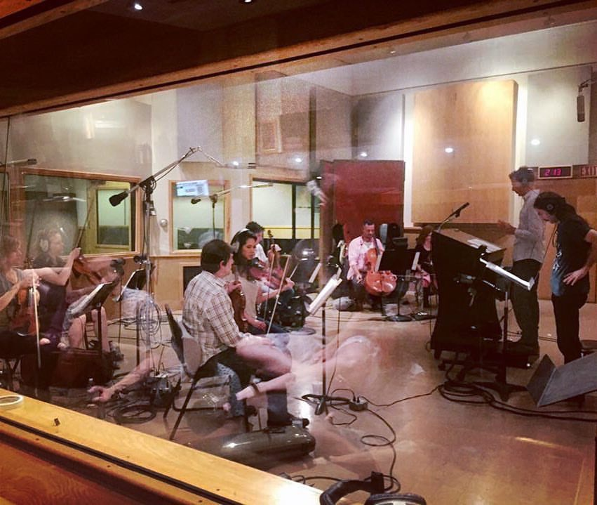 Recording session for Dylan Gardner at Sunset Sound Studios  May 2016  ·  Los Angeles, CA