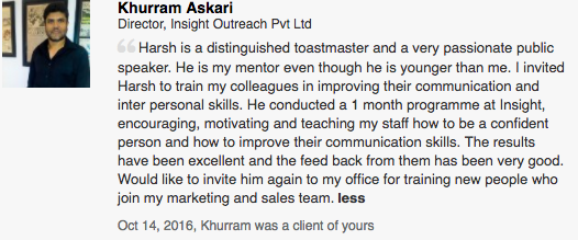 Khurram Askari, Director, Insight Outreach