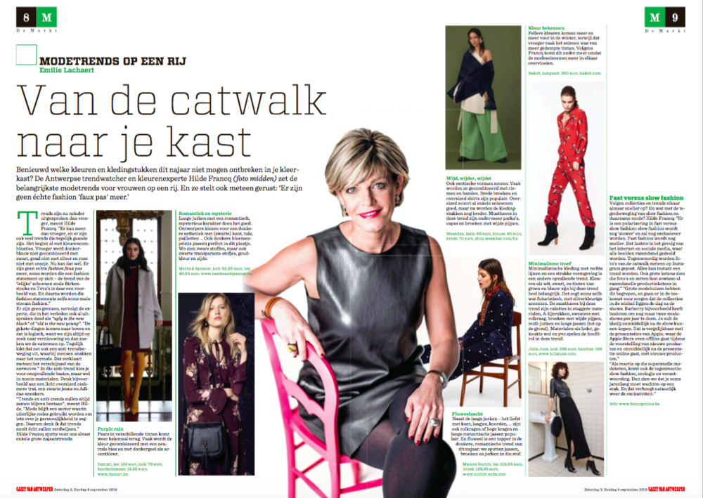 Interview Hilde Francq GVA