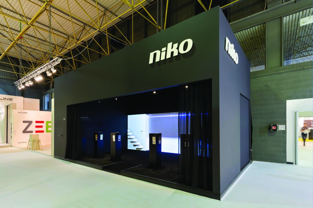 Niko booth at Biënnale Interieur 2016