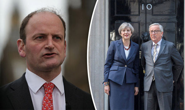 Carswell said the EU is delusional
