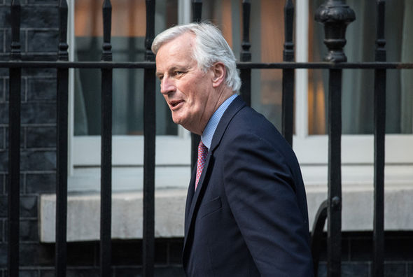 Michel Barnier also attended the Brexit meetings