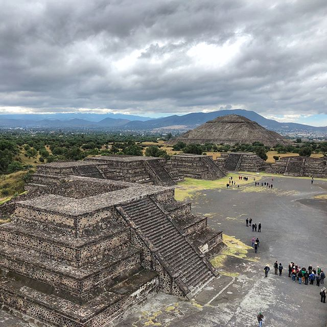40 miles northeast of Mexico City stands the ancient site of Teotihuacan, the largest city in Mesoamerica during Pre-Columbian times. Teotihuacán means 'place where gods were born', and was also believed to be the location where the universe was created for the Aztecs.  www.jetawayguru.com
