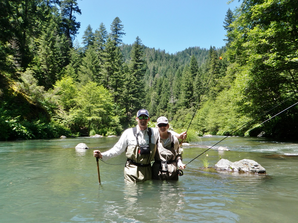 Wild Waters Clinc On The McCloud ....Marjorie & John