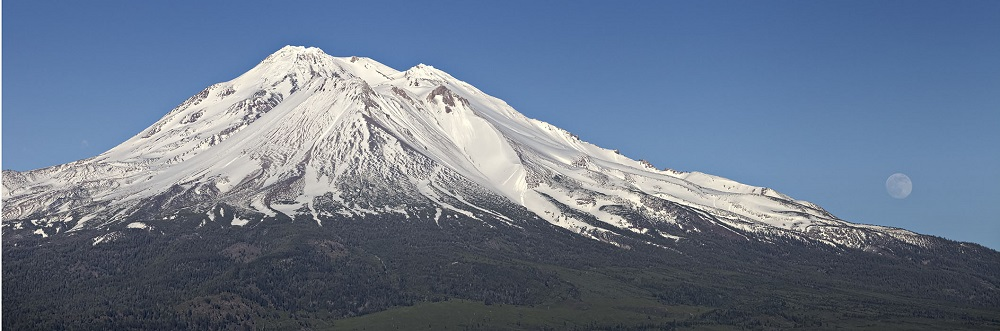 Still Got Snow On Mt. Shasta
