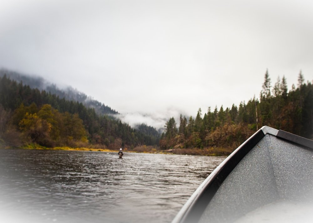 Love The Fall On The Klamath                      Photo by Carl Mogerly