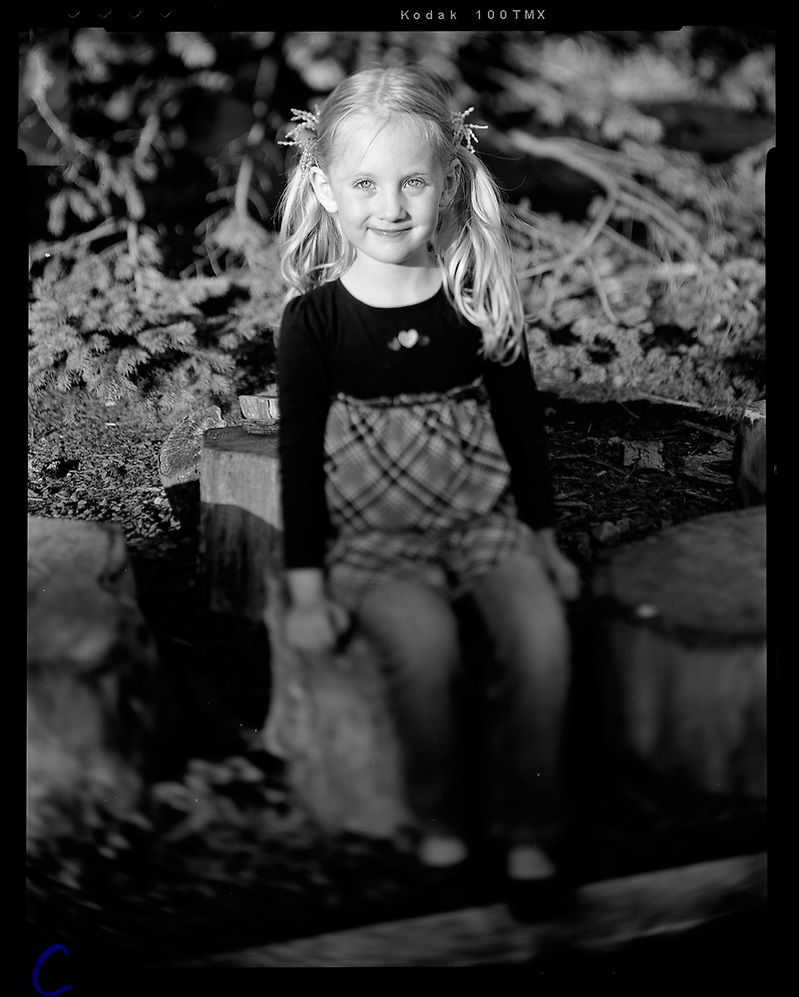 Large Format Child Portrait