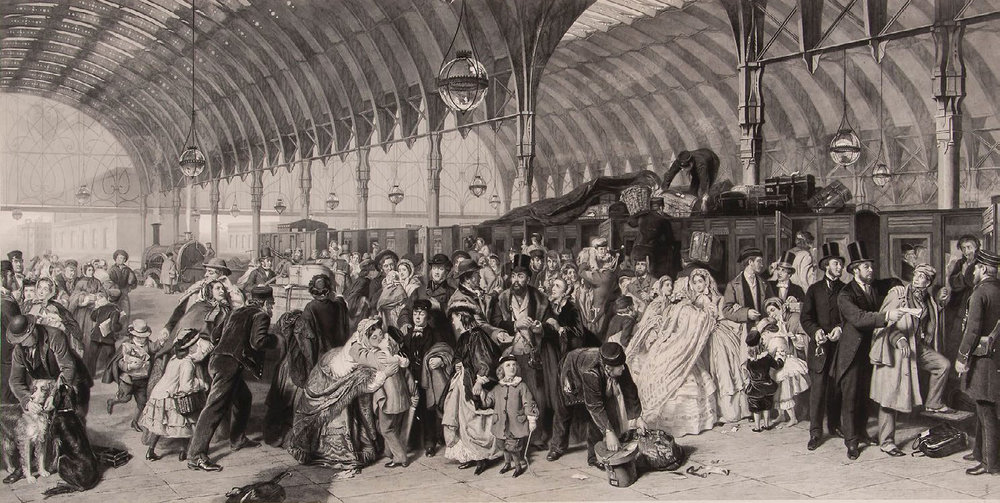 Waterloo Station, Terence Cuneo, 1967