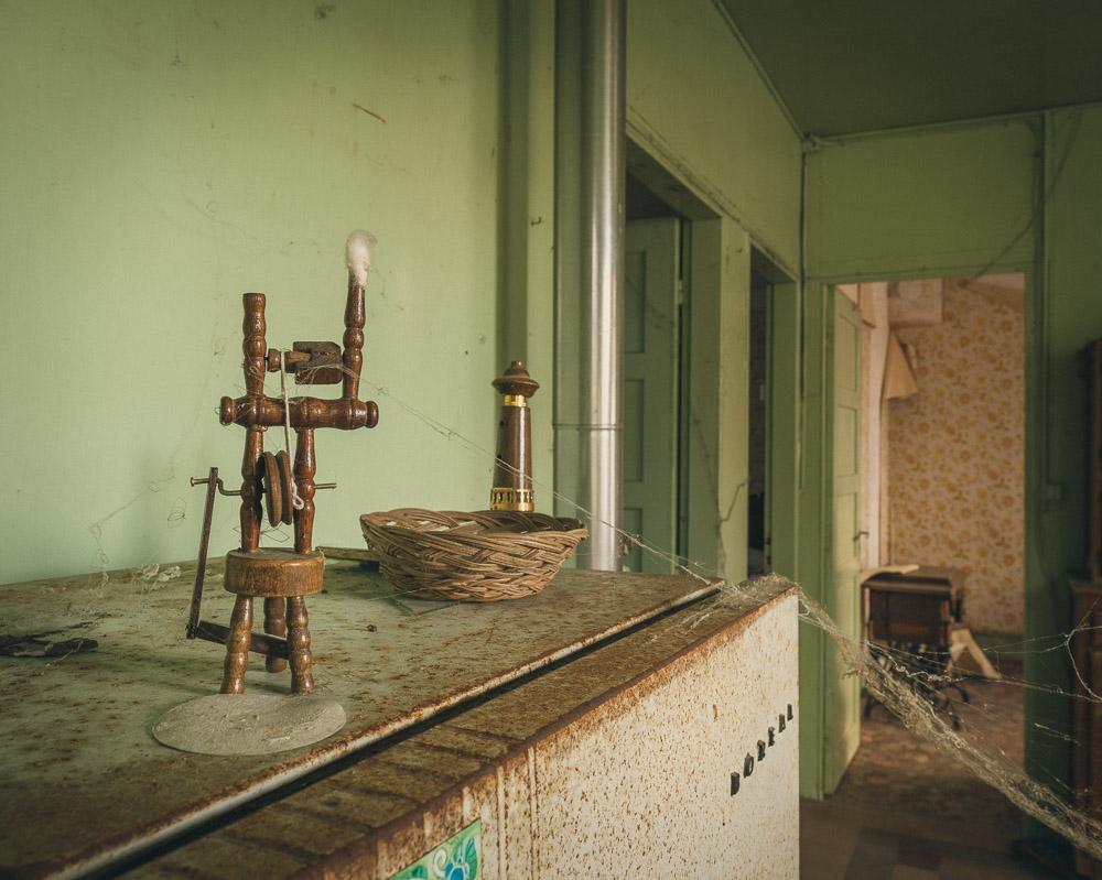 Lieux abandonnés - la maison de Daniel - le frigo Boréal