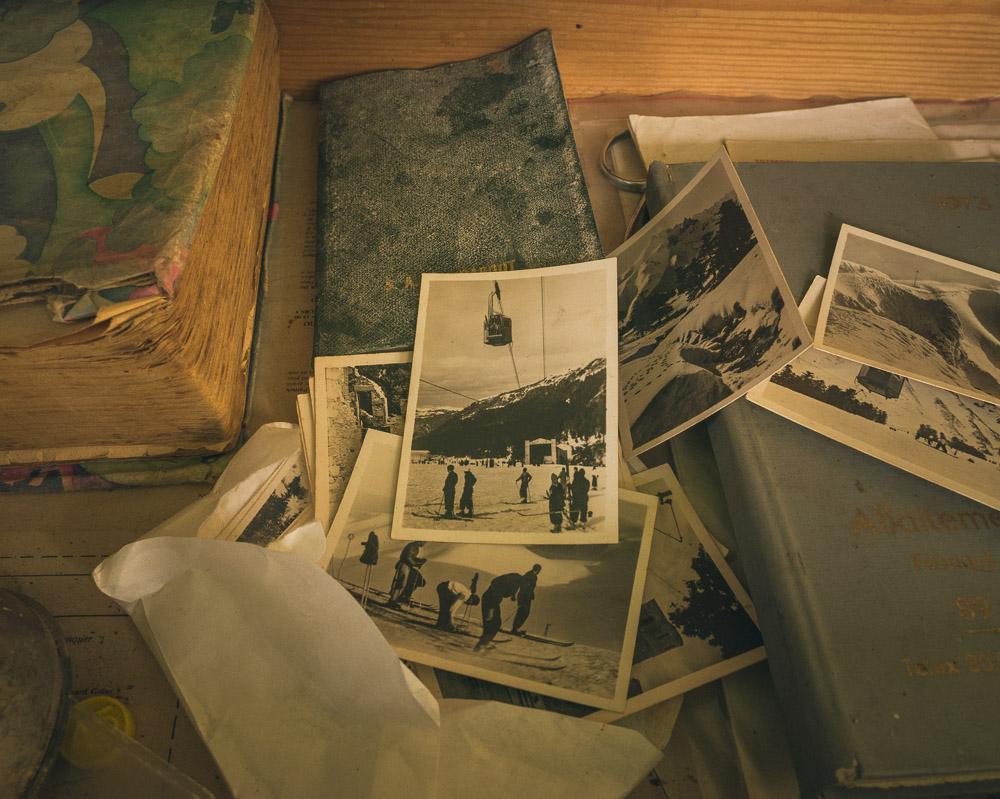 Lieux abandonnés - la maison de Daniel - photos de vacances à la neige