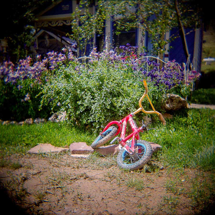 Child's pink bike - Silverton