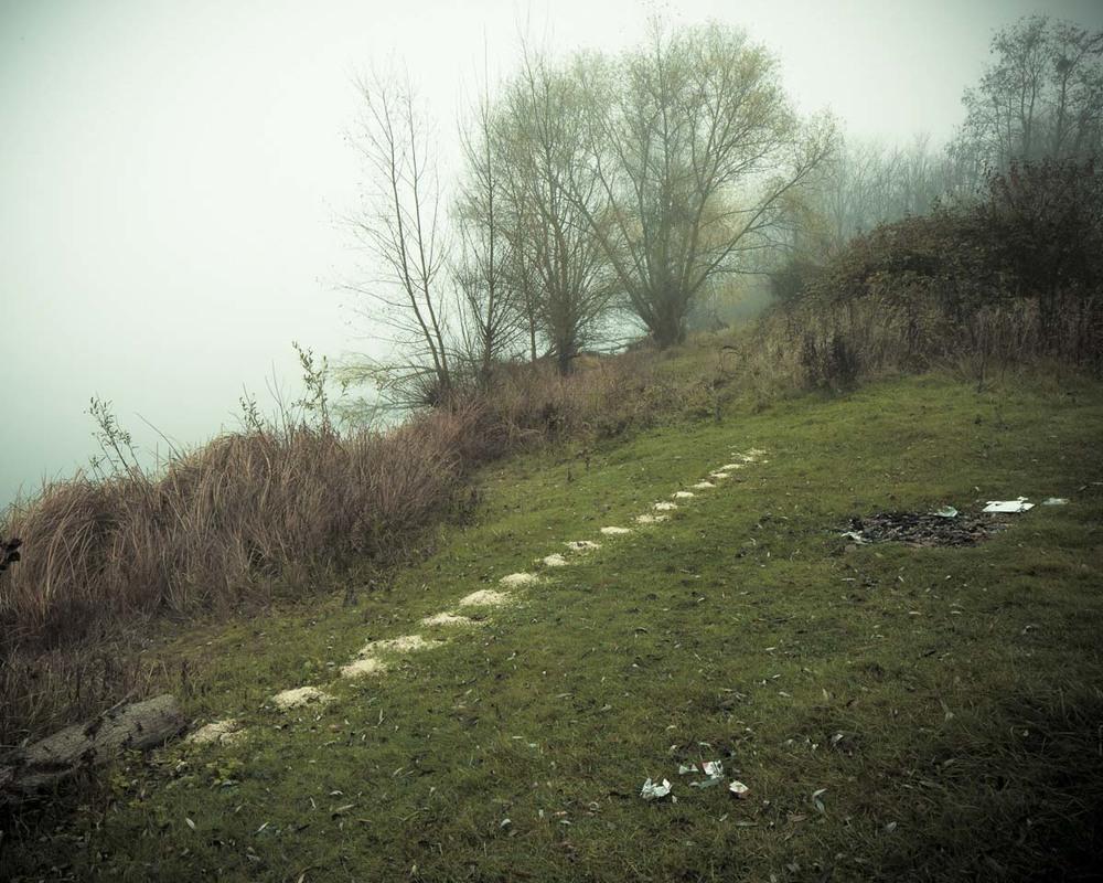 Lieux abandonnés - le bon chemin - traces de castors