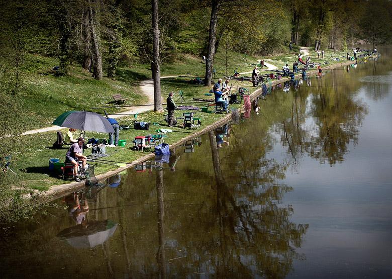 Projet 26 - Temps libre - Pêcher à Dampierre en Burly